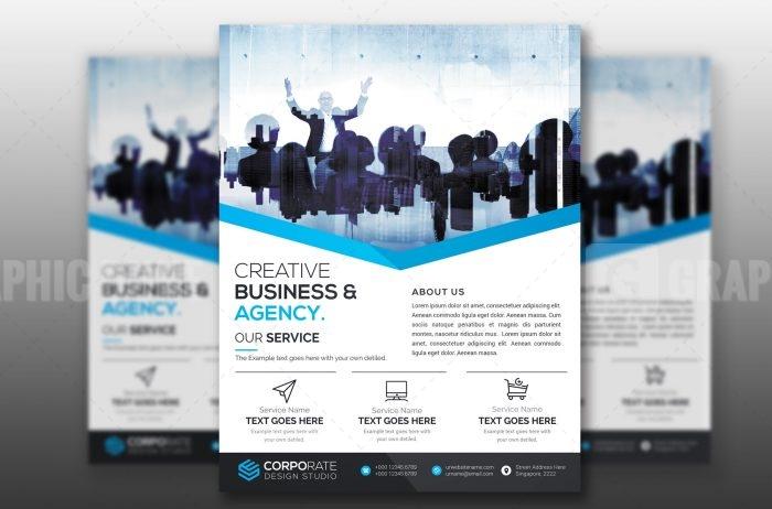 PSD Creative Flyer Template