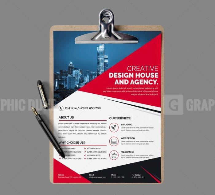 PSD Modern Business Flyer